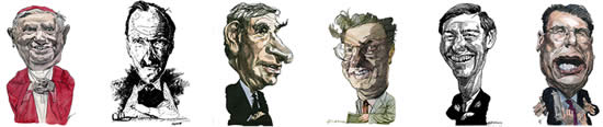General / Miscellaneous Caricatures by Kerry Waghorn