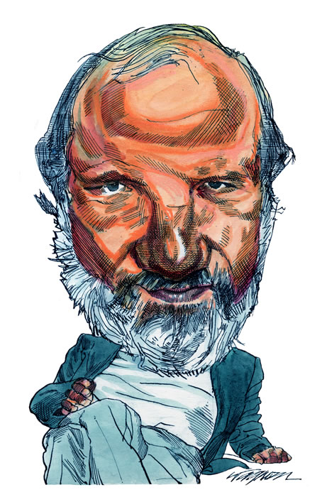 Directors Caricatures Gallery Kerry Waghorn Caricature