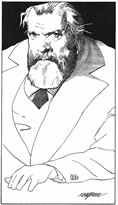Orson Wells caricature