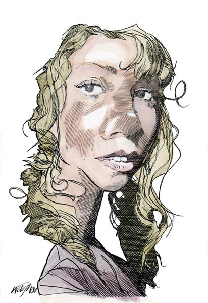 Musicians Caricatures Gallery Kerry Waghorn Caricature