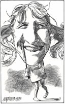Tracy Austin caricature
