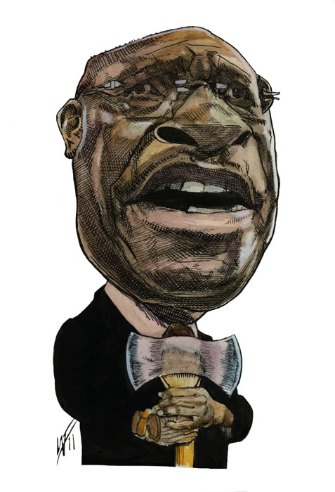 Herman Cain. Former Pizza Executive, Republican Presidential Candidate