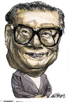Elder Statesman China Jiang Zemin